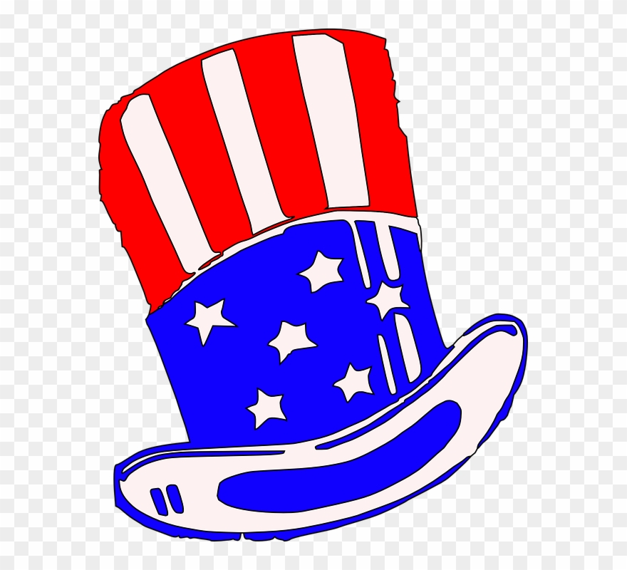 Uncle Sam Clipart President Hat.