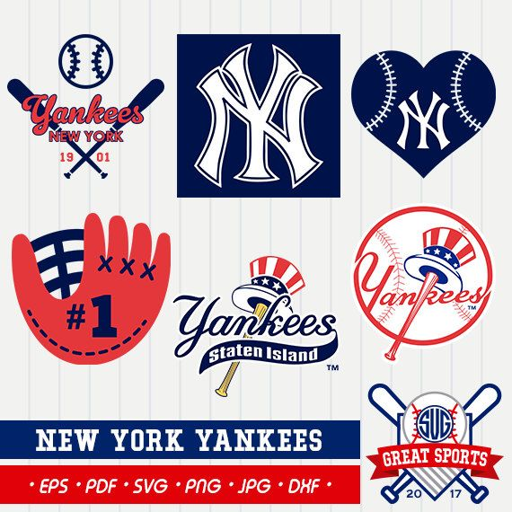 New York Yankees SVG, Yankees Clipart, New York Yankees SVG.