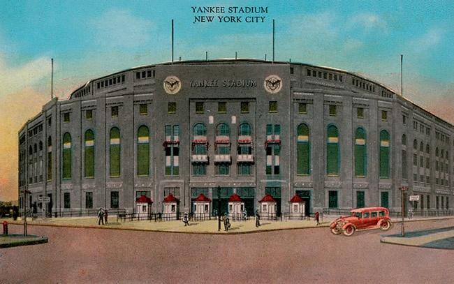 Old Yankee Stadium..