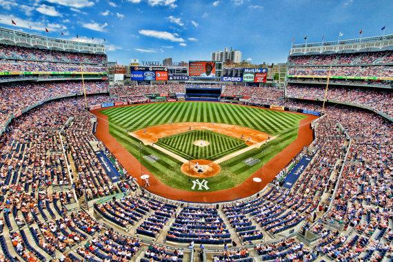 Yankee Stadium Sports Photography New York by JoshFriedmanPhoto.