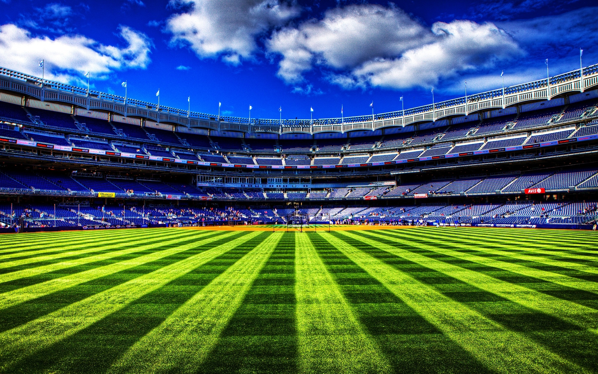 Yankee stadium desktop clipart.