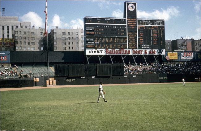 The Original Yankee Stadium.