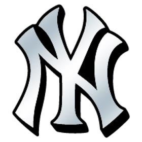 New york yankees helmet clipart.