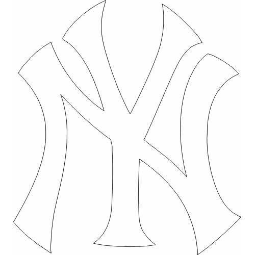 Free Yankees Logo Black And White, Download Free Clip Art.
