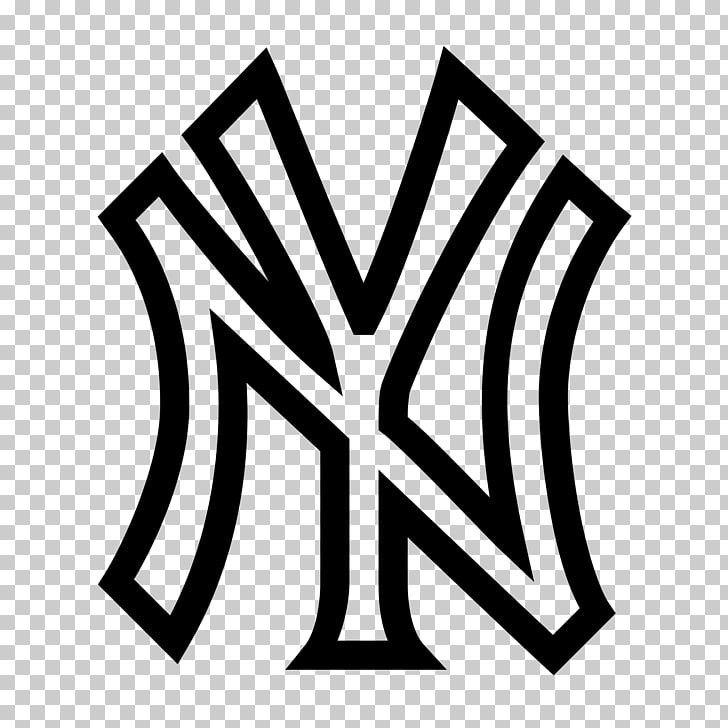 Logos and uniforms of the New York Yankees Yankee Stadium.