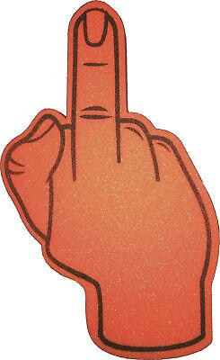 FOAM HAND PALM Finger Number 1 Fan Pack of 80.