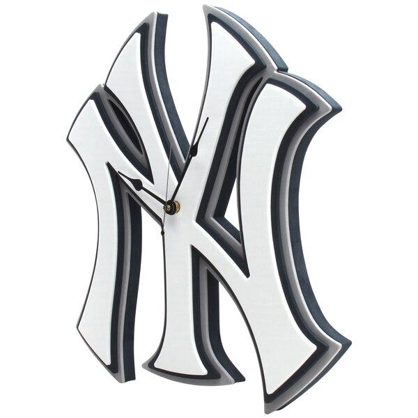New York Yankees 3D Foam Wall Clock.