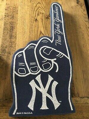 MLB NEW YORK Yankees Foam Finger, NEW.
