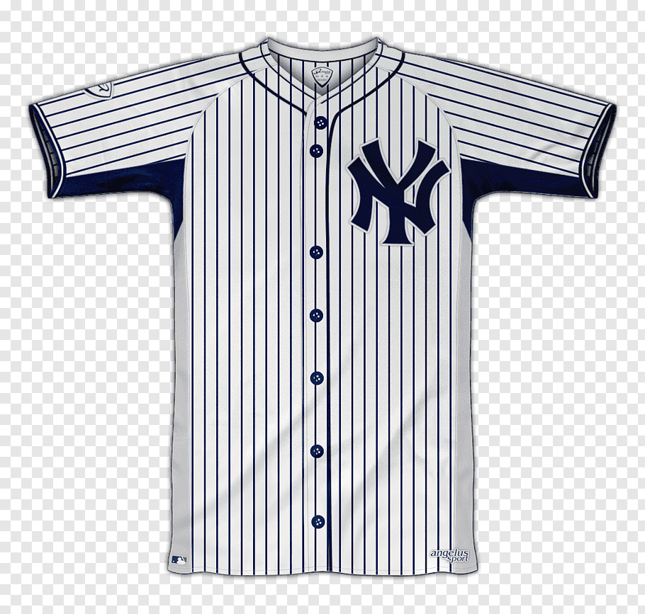 Logos and uniforms of the New York Yankees MLB World Series.