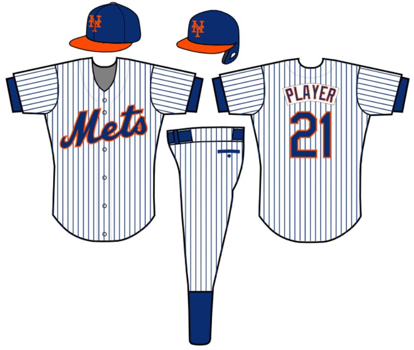 new york mets uniform concept clipart Jersey New York Mets.