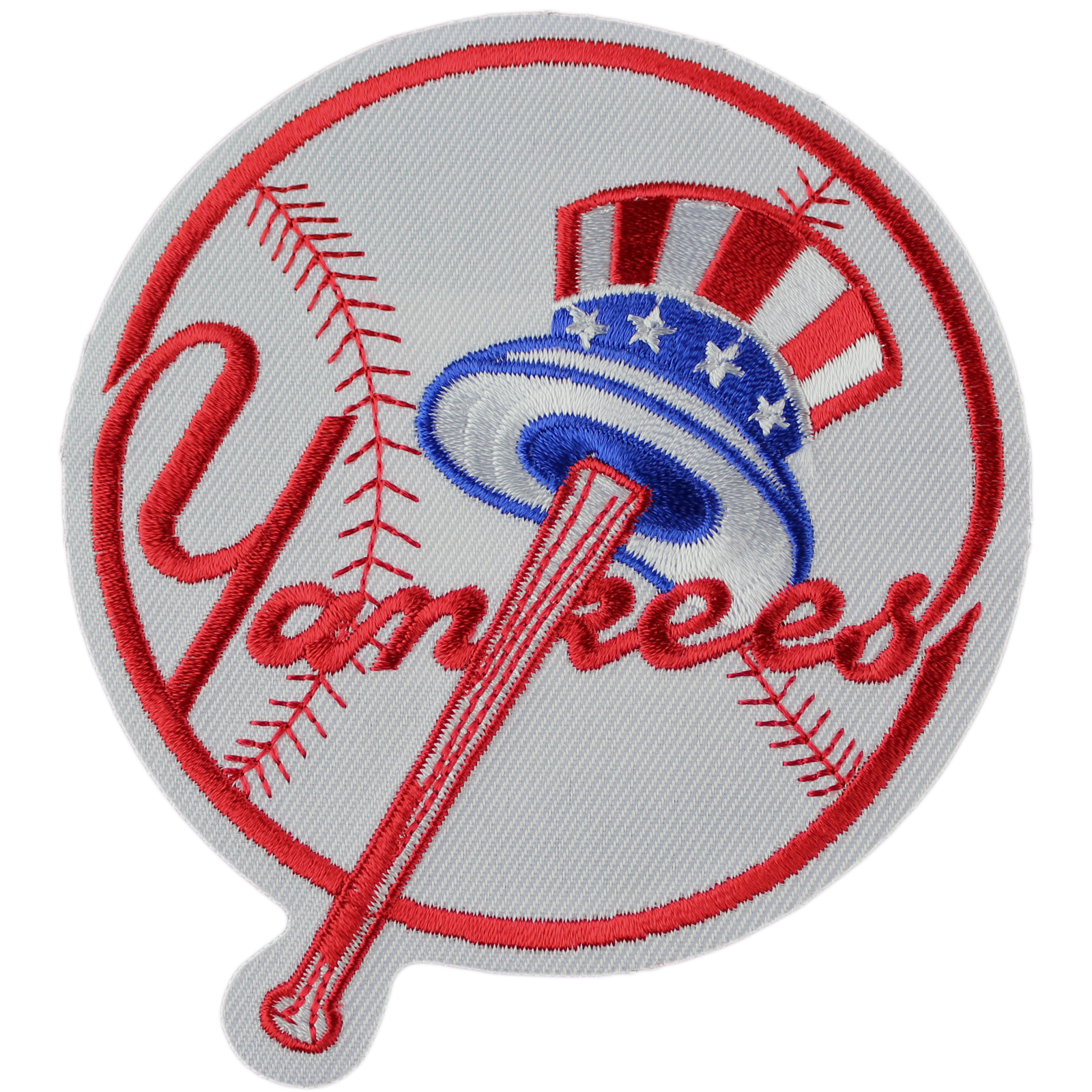 Details about New York Yankees Patch Jersey Round Top Hat Logo Jersey  Sleeve MLB Emblem.