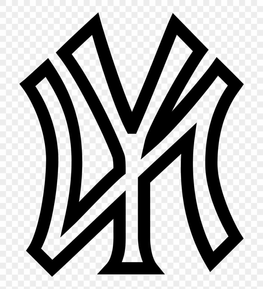 Best Free All New York Yankees Logos Vector Drawing » Free.