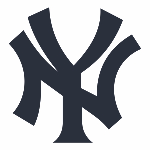 New York Yankees Jersey Logo Vector.