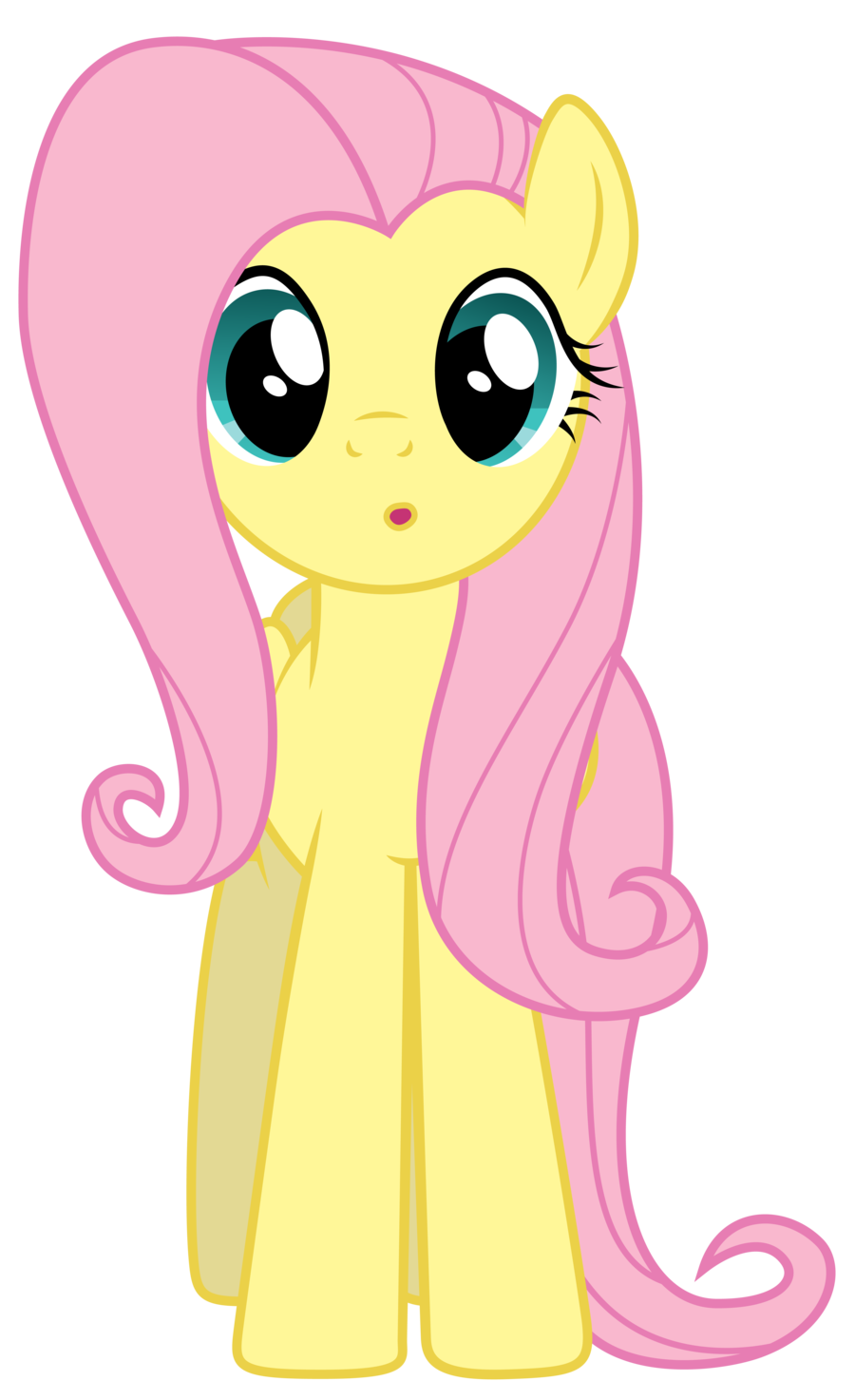 Curious Fluttershy 2 by Yanoda on DeviantArt.