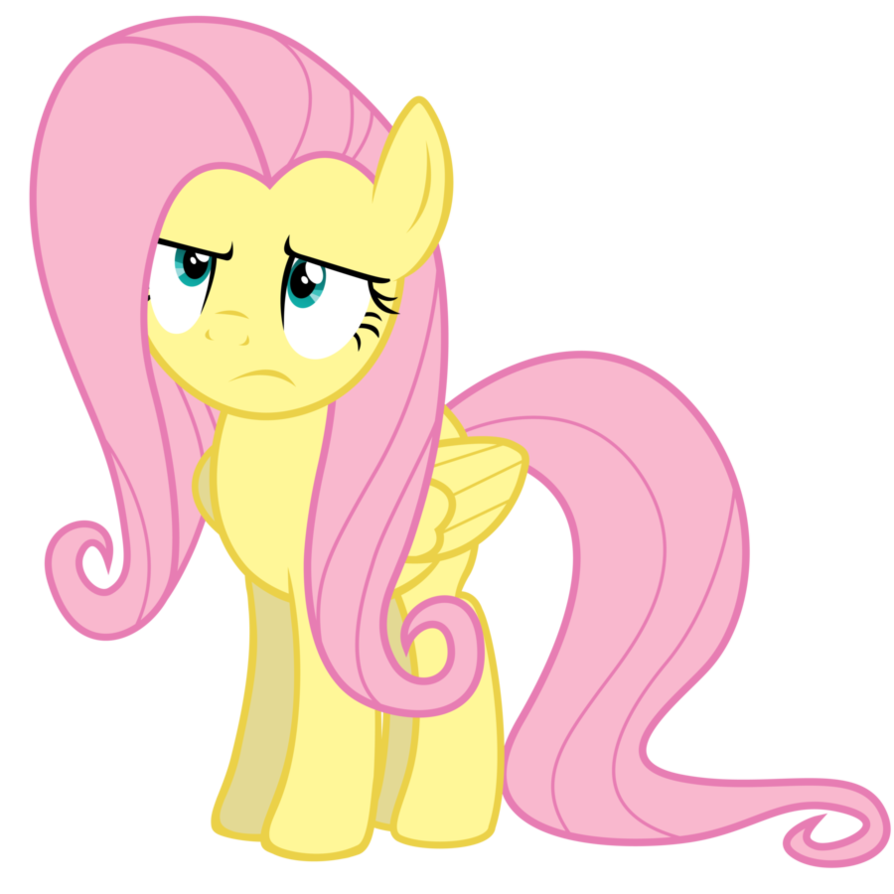Unamused Fluttershy by Yanoda on DeviantArt.