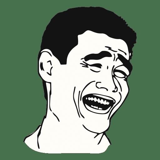 Yao ming face meme.