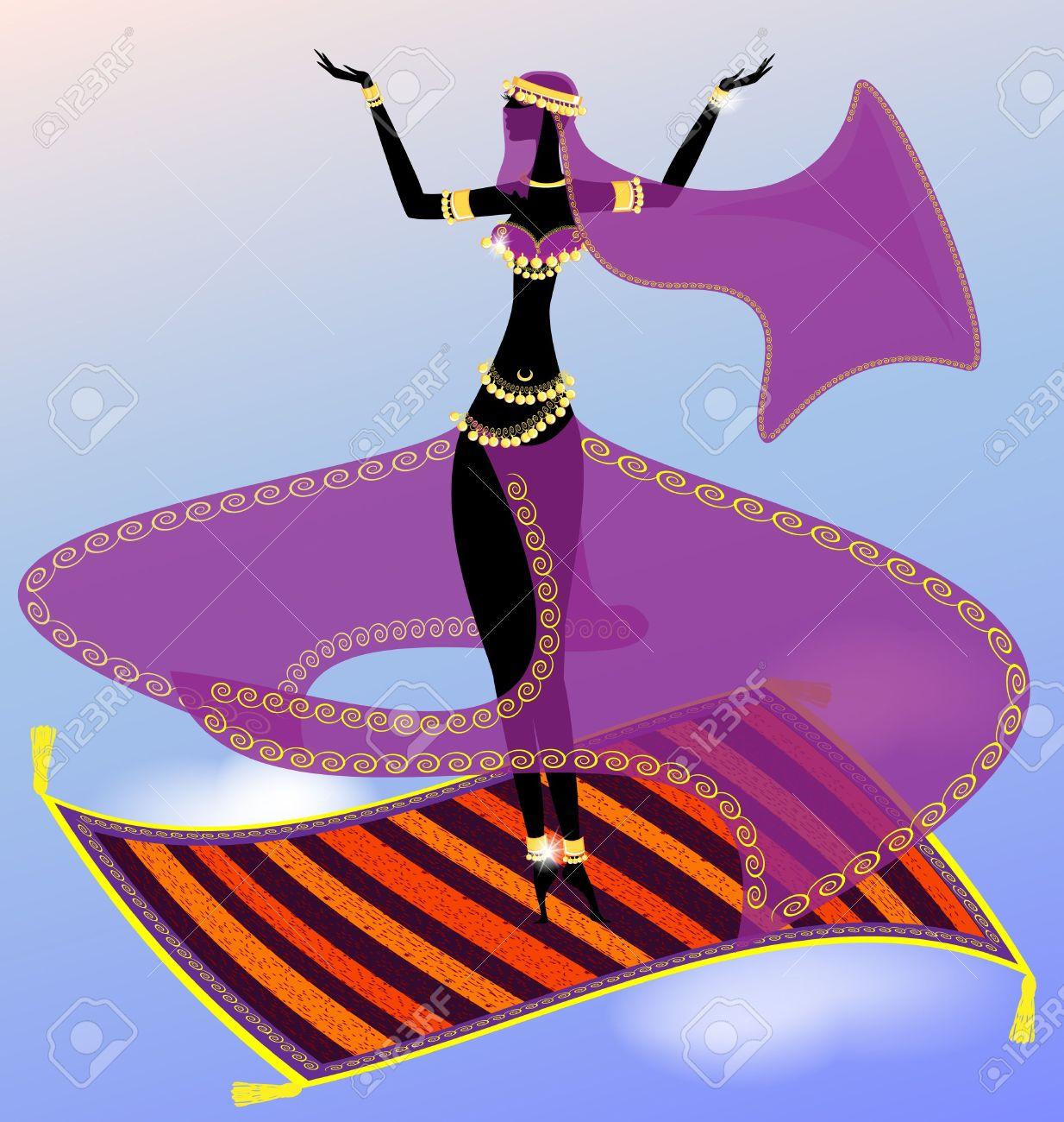 Yappeto clipart clipground - Danseuse orientale dessin ...