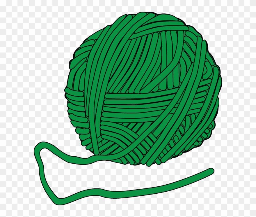 535 Yarn Clipart (#2906136).