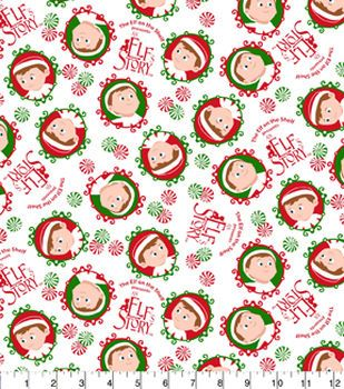 Christmas Cotton Fabric.