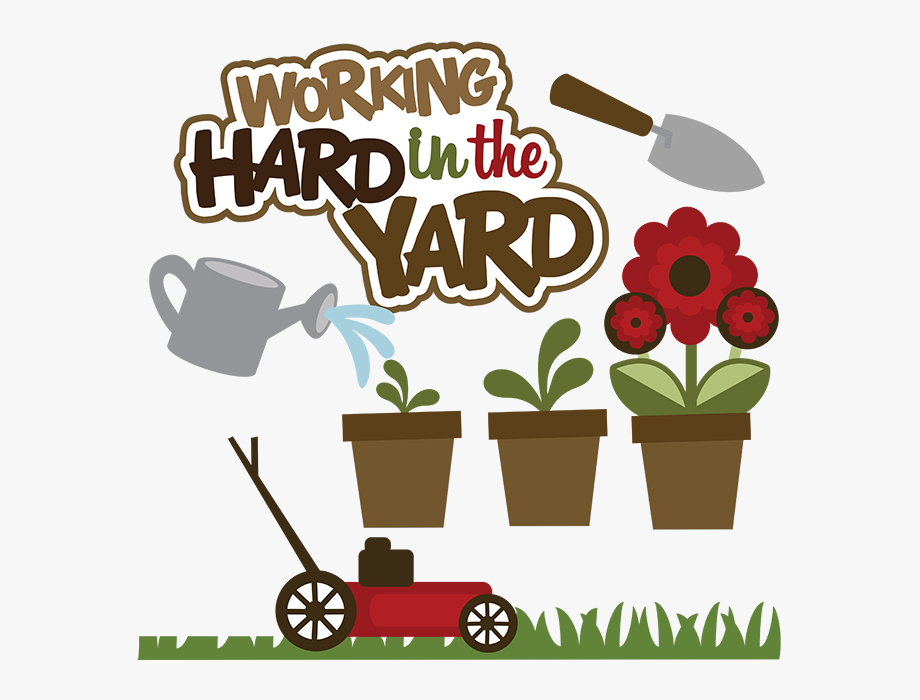 Working Hard In The Yard Svg Lawn Mower Svg File Yard.