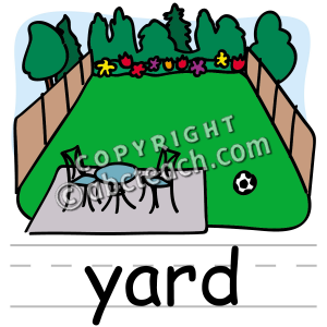 Yard Clipart.