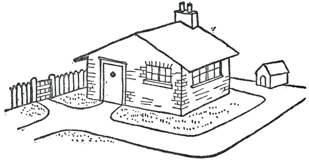 School Yard Clipart Black And White.