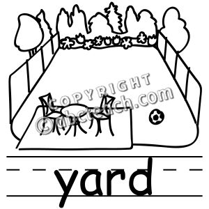 75 SCHOOL YARD CLIPART BLACK AND WHITE.