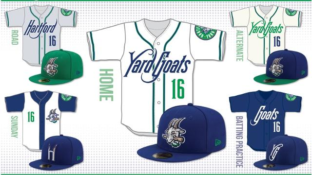Hartford Yard Goats Unveil Uniforms.