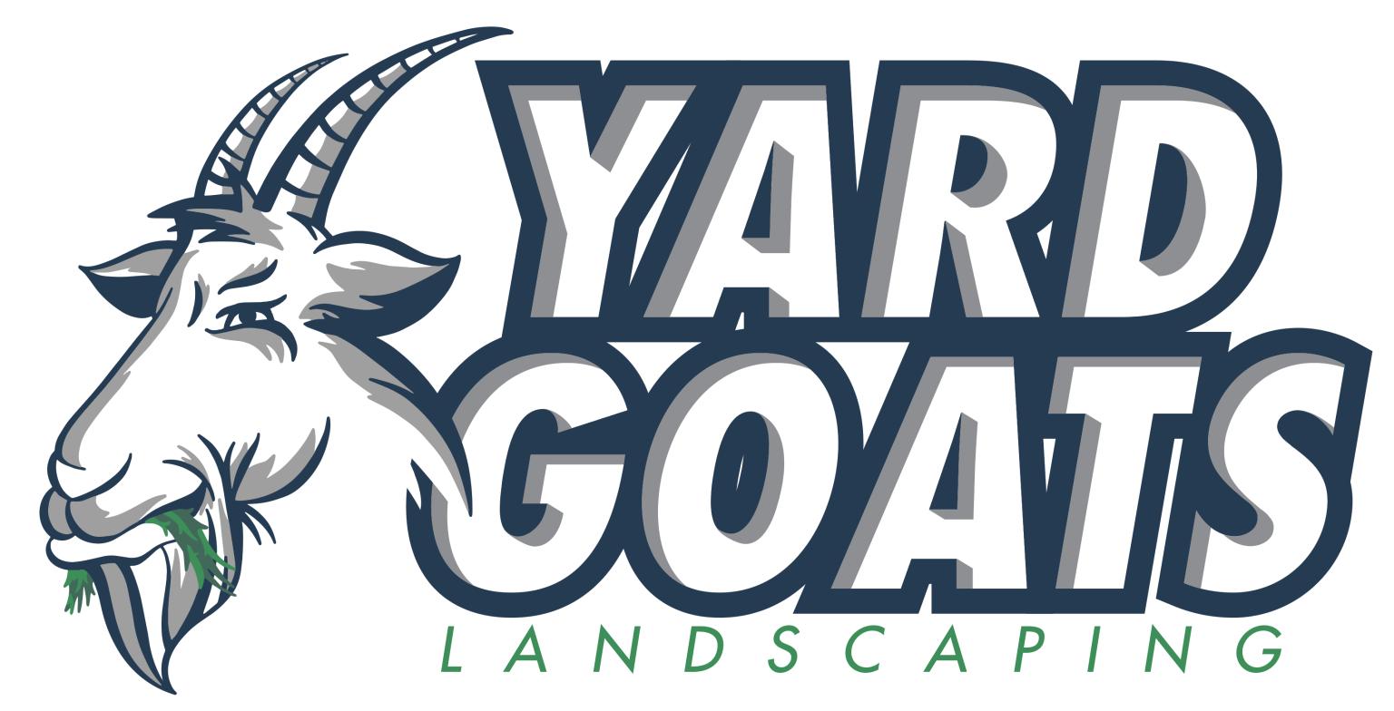Yard Goats Landscaping Logo.