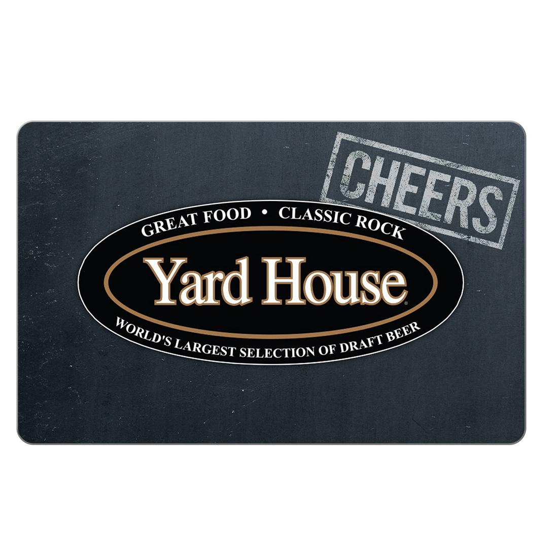 $25 Yard House Gift Card, 3 pk..