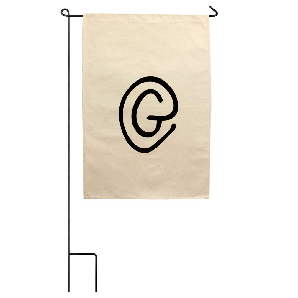 Amazon.com: Style In Print G Clipart Initial Monogram Letter.