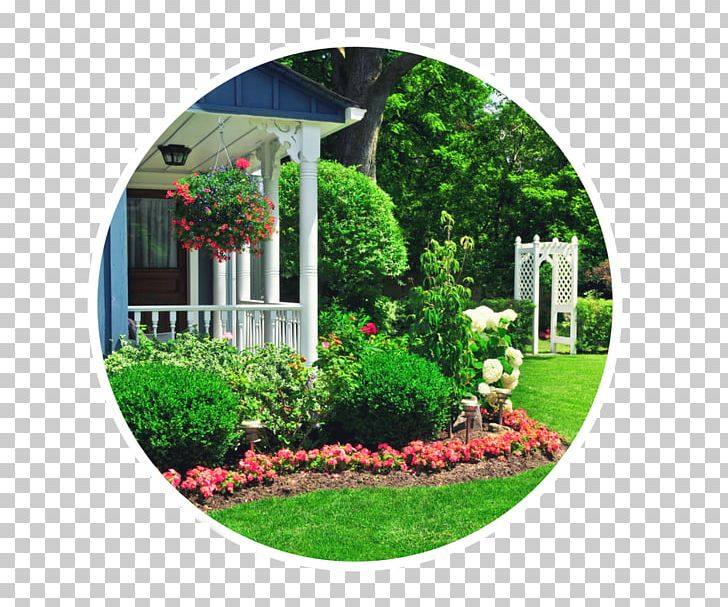 Flower Garden Landscaping House Front Yard PNG, Clipart.