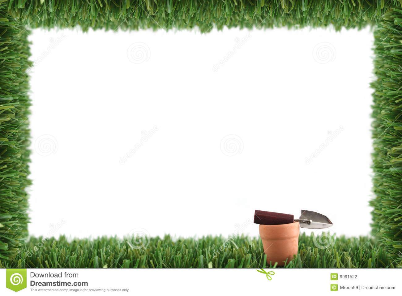 Border Garden Clipart.