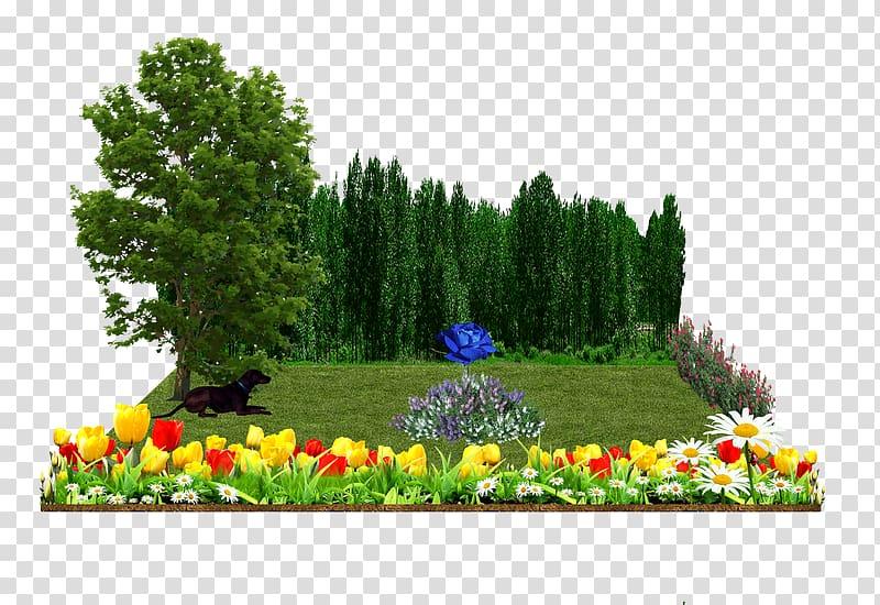 Garden Landscaping, nursery transparent background PNG.