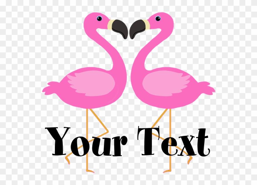 Personalizable Pink Flamingos Yard Sign.