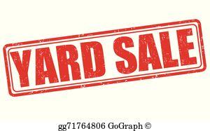 Yard Sale Clip Art.