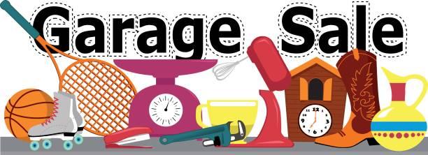 Best Garage Sale Illustrations, Royalty.