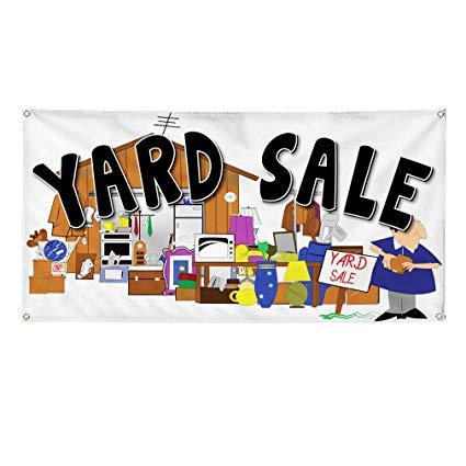 Amazon.com : Vinyl Banner Sign Yard Sale Business Style U.