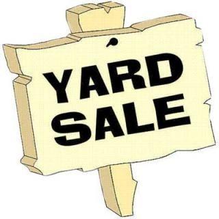 Yard Sale Clipart Images.