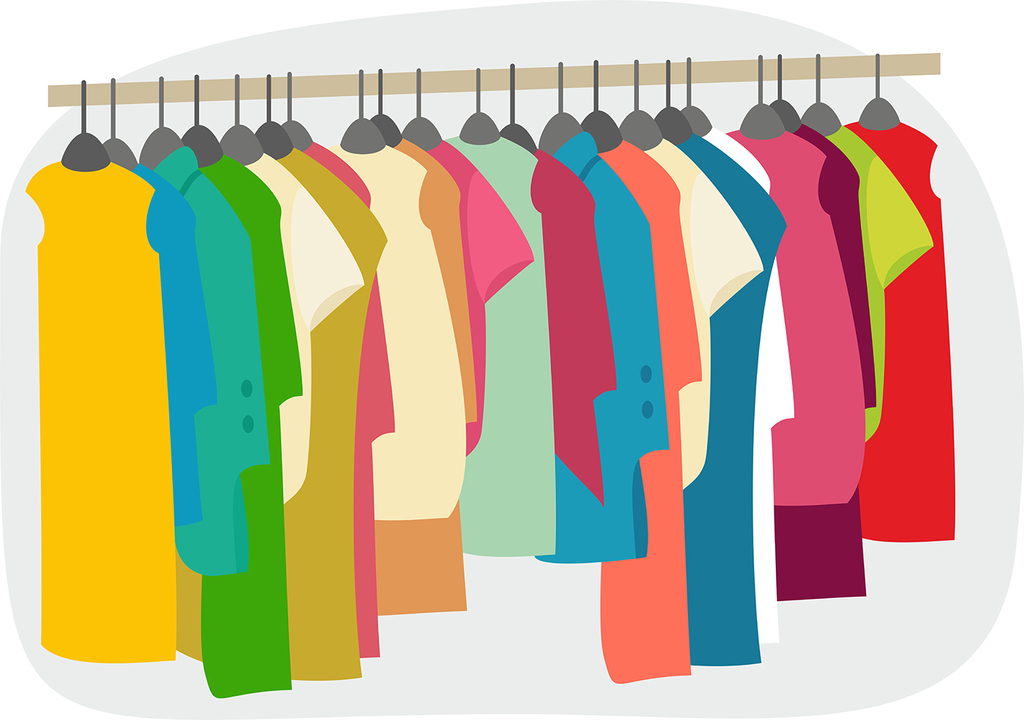 Clothing Sale Clipart.