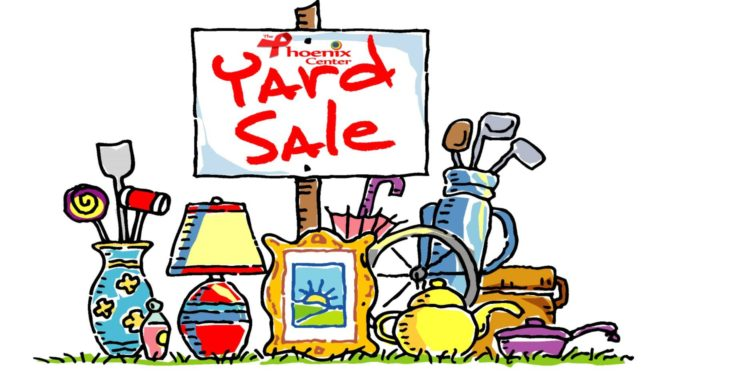 Phoenix Center Yard Sale on April 26.
