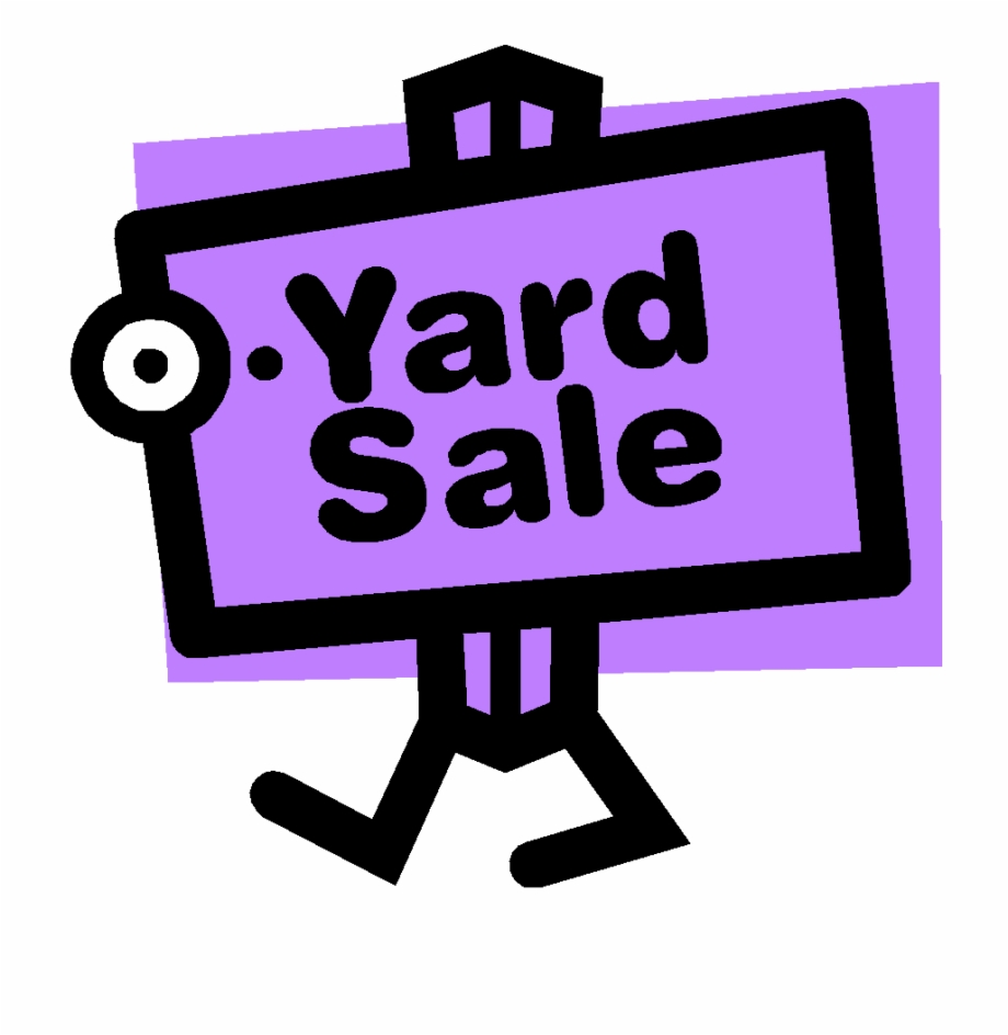 Garage Sale Signs Clipart.