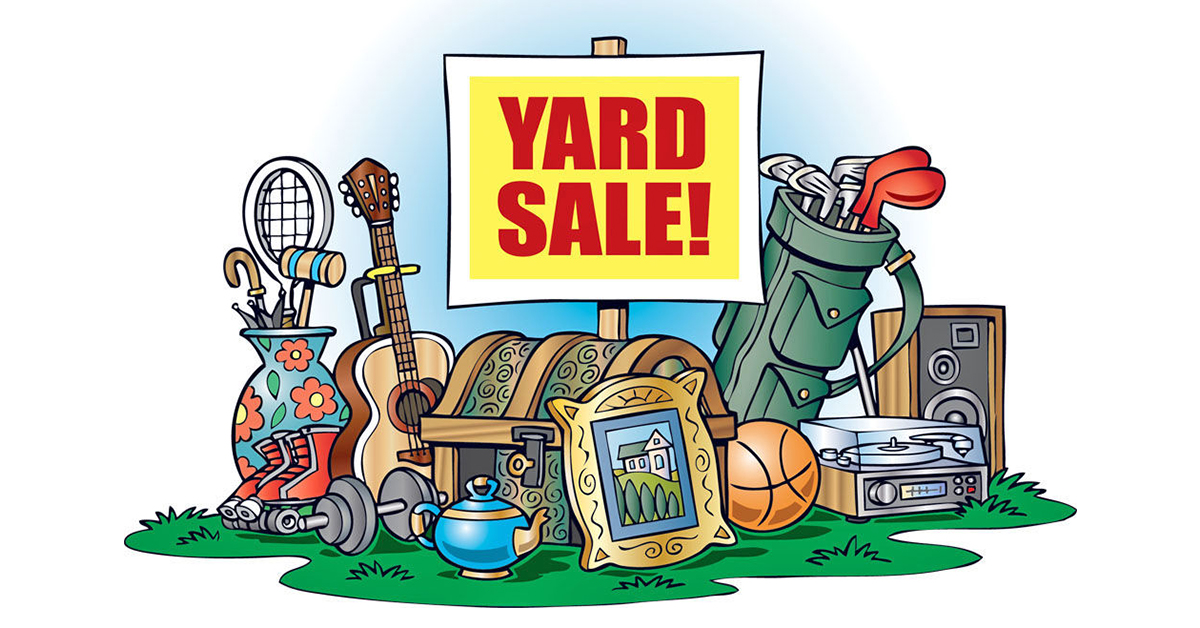 Sell Your Stuff in a Yard Sale.