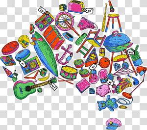Shopping Cartoon, GARAGE SALE, Sales, Toy, Australia, Estate.
