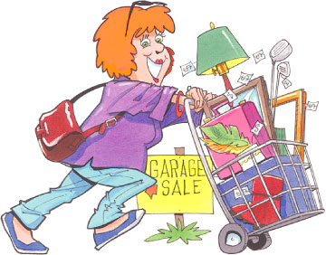 Yard sale workers clipart clipart images gallery for free.