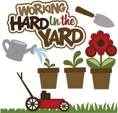 Free Clipart Images Of Yard Work.