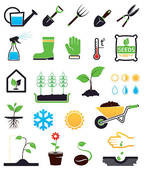 Yard work Clip Art EPS Images. 944 yard work clipart vector.