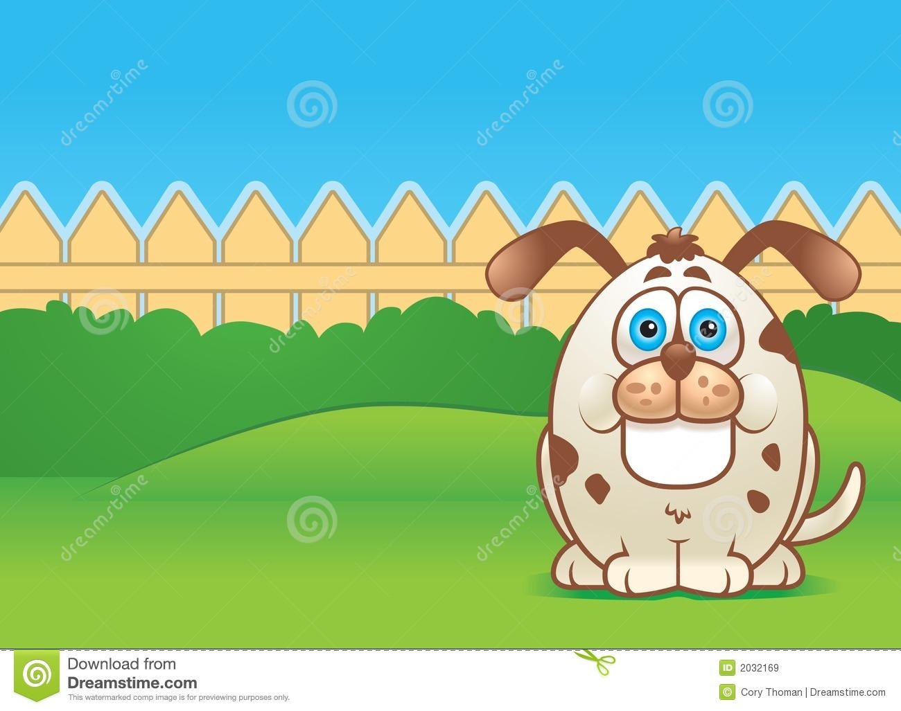 Showing post & media for Cartoon fenced yard.