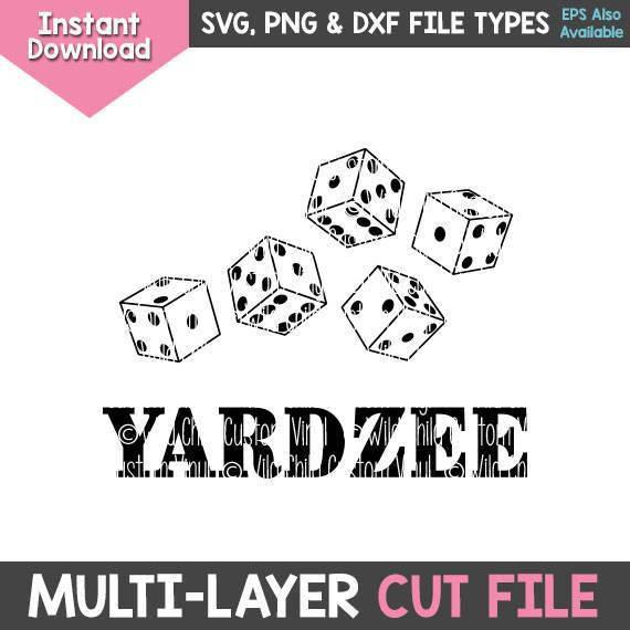 YARDZEE Graphics Only, YARDZEE svgs, Yardzee Graphics, Yard.