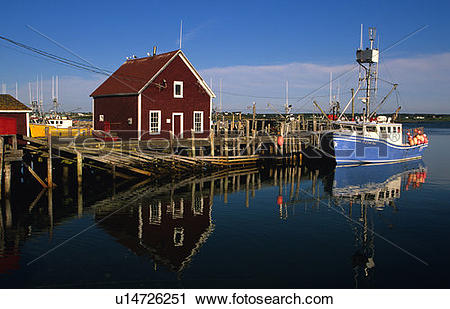 Stock Photography of Yarmouth Bar, Yarmouth, Nova Scotia, Canada.